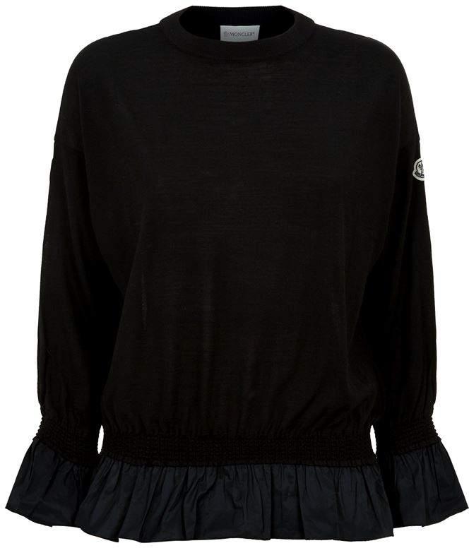Ruffle Hem Sweater