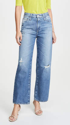 AG Jeans The Tomas High Rise Baggy Straight Jeans