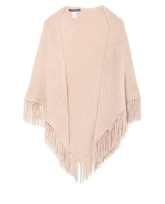 Vince Camuto Triangle Fringed Scarf