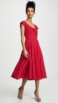 La Maison Talulah Ruby Red Midi Dress
