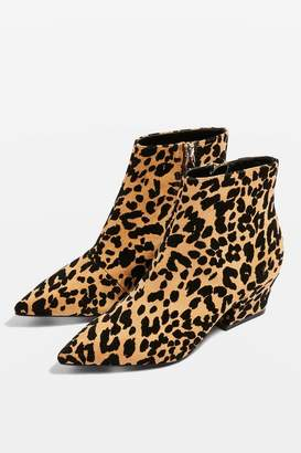 Topshop BRINK Heeled Point Boots