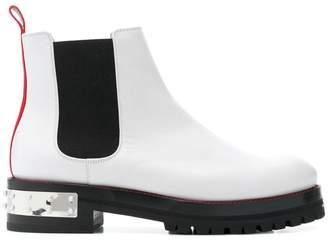 Alexander McQueen elasticated side panel boots
