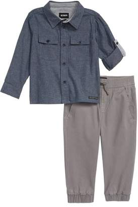 Hudson Chambray Shirt & Pants Set