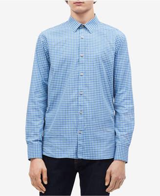 Calvin Klein Men's Gingham Check Shirt
