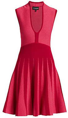 Emporio Armani Women's Sleeveless Fit-&-Flare Knit Dress