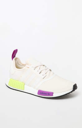 adidas NMD_R1 White & Yellow Shoes