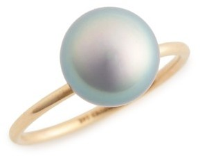 Women's Mizuki Sea Of Beauty Keshi Pearl Ring $400 thestylecure.com