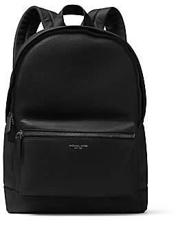 Michael Kors Men's Bryant Pebble-Textured Leather Backpack