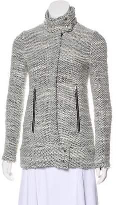 IRO Bouclé Zip-Up Jacket