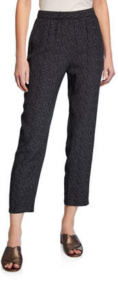 Eileen Fisher Morse Code Slouchy Pants, Plus Size