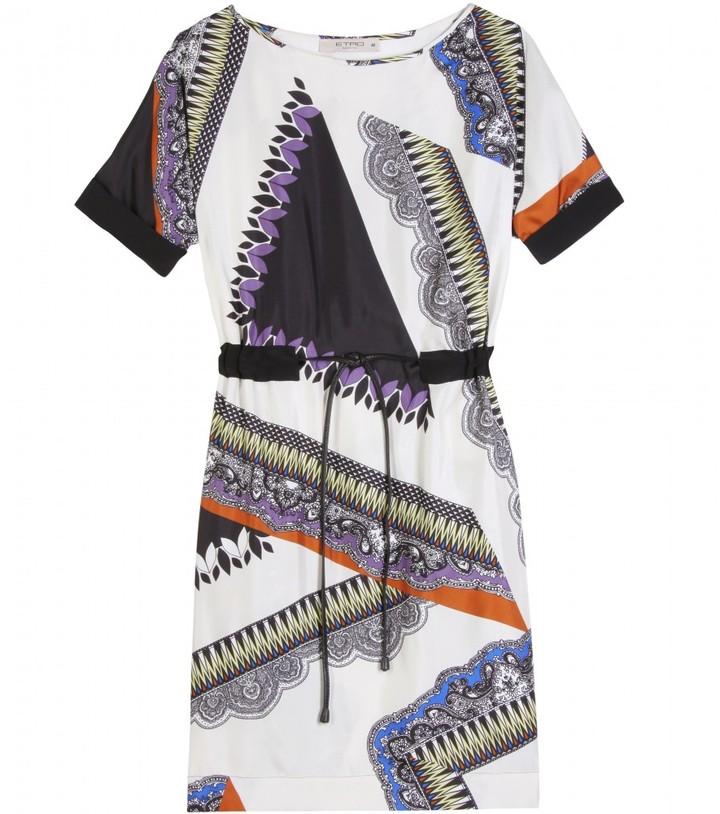 Etro SILK PATTERN DRESS