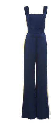 Alexis Luisana Side Stripe Silk Jumpsuit