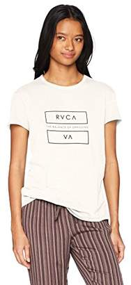 RVCA Junior's at End Loose Fit T-Shirt