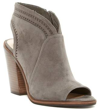 Vince Camuto Koral Perforated Open Toe Bootie - Slim Width Available $149 thestylecure.com