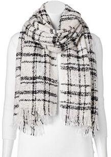 Apt. 9® Windowpane Oblong Blanket Scarf $32 thestylecure.com