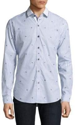 Robert Graham Del Rey Striped Shirt