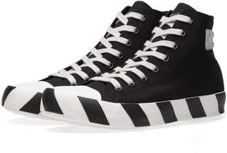 Off-White Off White Stripe High Sneaker
