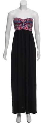 Mara Hoffman Strapless Maxi Dress