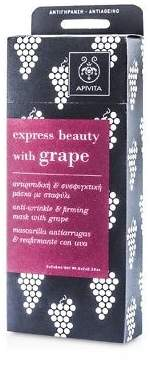 Apivita NEW Express Beauty Anti-Wrinkle & Firming Mask with Grape 6x(2x8ml)