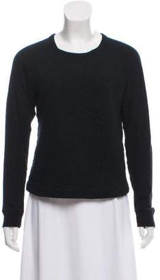 Rag & Bone Scoop Neck Long Sleeve Sweatshirt
