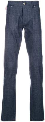 Isaia straight leg trousers