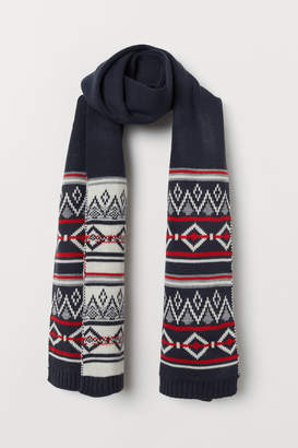 H&M Knit Scarf - Red