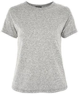 Topshop Marl short sleeve t-shirt