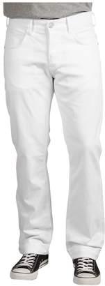 Hudson Byron 5-Pocket Straight Leg in White Men's Jeans