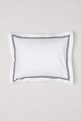 H&M Cotton percale pillowcase