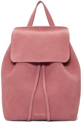 Mansur Gavriel Pink Suede Mini Backpack