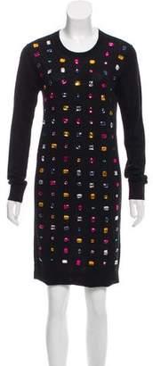 Sonia Rykiel Sonia by Rhinestone Embellished Dress w/ Tags
