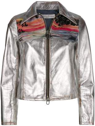 Golden Goose Mira sunset print jacket