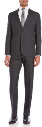Armani Collezioni Two-Piece Pindot G Line Suit