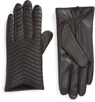 Mackage Cano Lambskin Leather Tech Gloves