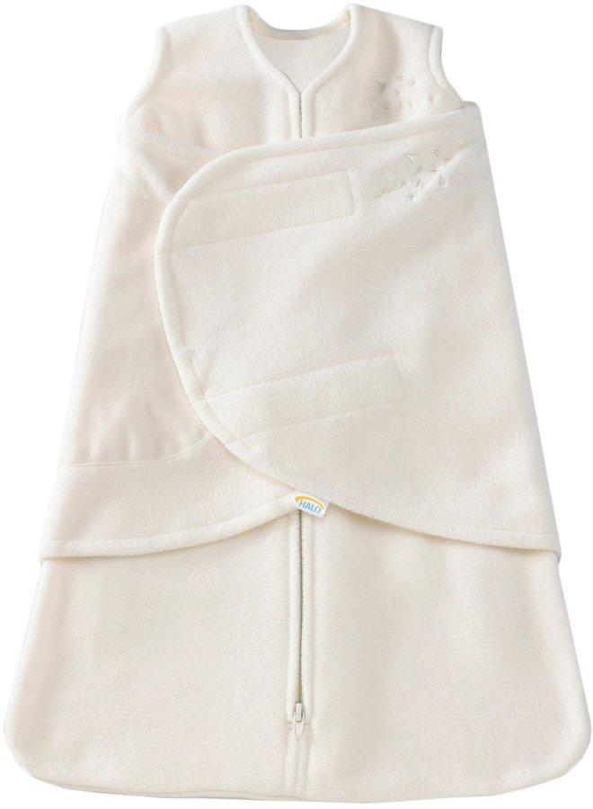 Halo Micro-Fleece SleepSack Swaddle - Cream - Small
