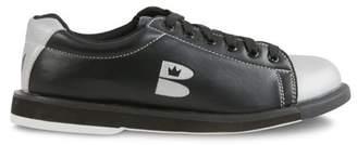 Brunswick Unisex T Zone Blk/Svr Bowling Shoes M11.5 / W12.5