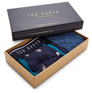 Ted Baker Tree Boxer & Sock Gift Set