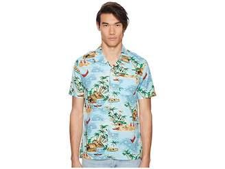 Levi's Premium Premium Short Sleeve Linen Hawaiian Shirt