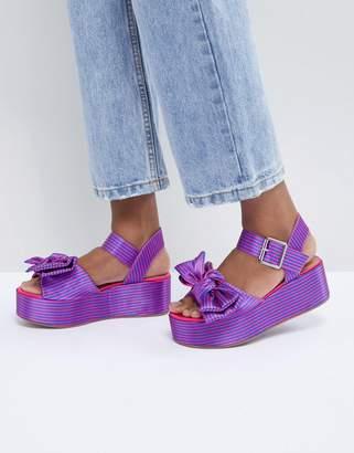 Asos Design Hester Flatform Sandals