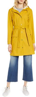 Halogen Waterproof Hooded Rain Jacket