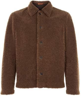 Barena Collared Teddy Coat