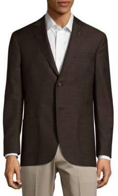 Michael Bastian Modern Fit Wool Plaid Sportcoat