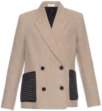 Edun Double-breasted linen blazer