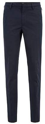 HUGO BOSS Slim-fit chinos in mercerised stretch-cotton twill