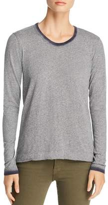 Wilt Ombré-Trim Long-Sleeve Tee