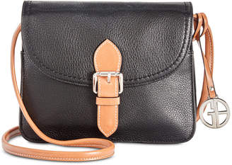 Giani Bernini Leather Conflap Crossbody