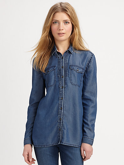Burberry Denim Shirt