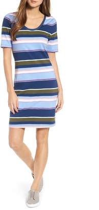 Tommy Bahama Stripe Scoop Neck Dress