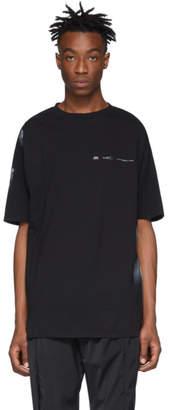 Oakley by Samuel Ross Black Deconstructed T-Shirt