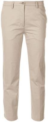 Kenzo contrasting side panel trousers